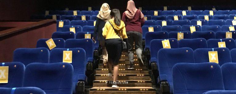pengalaman ke bioskop saat pandemi