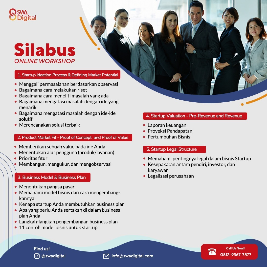 silabus startup online course